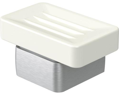 Haceka Aline zeepschaal geborsteld aluminium