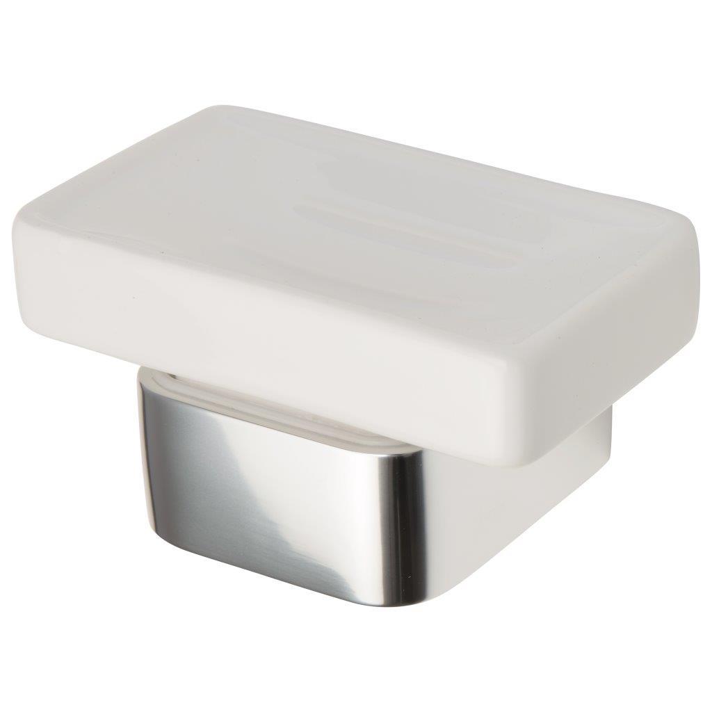 Haceka Aline zeepschaal gepolijst aluminium