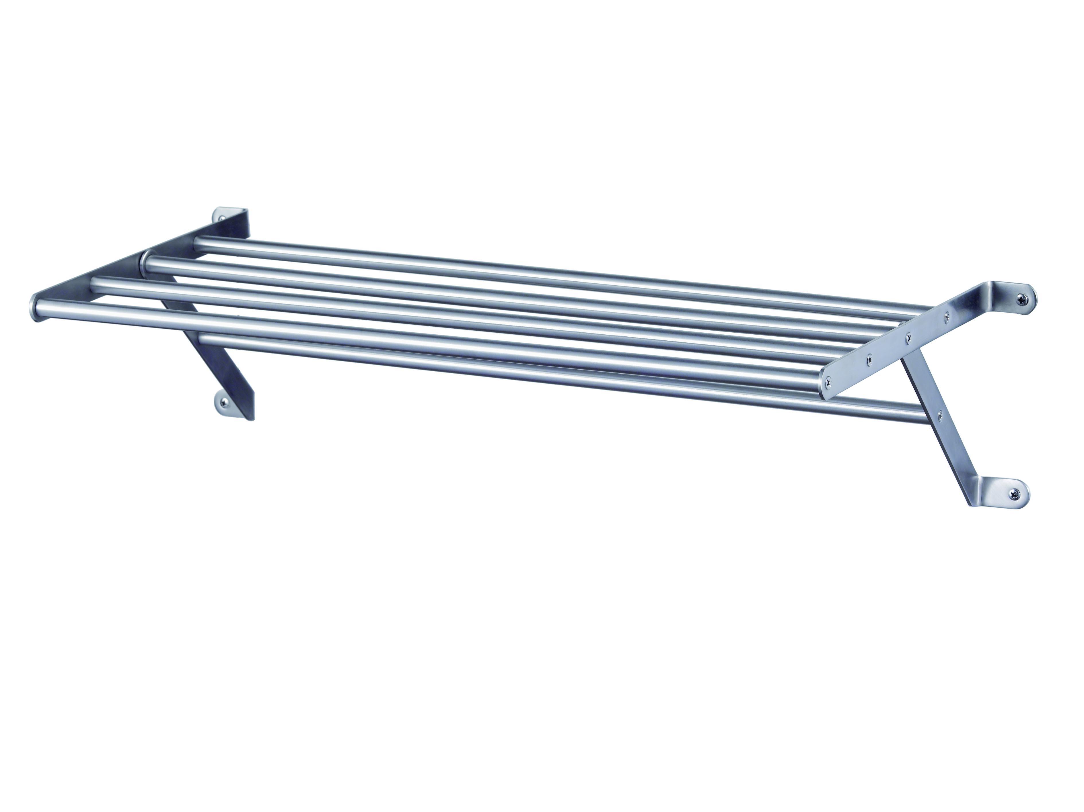 Haceka IXI RVS Towel Rack with bar