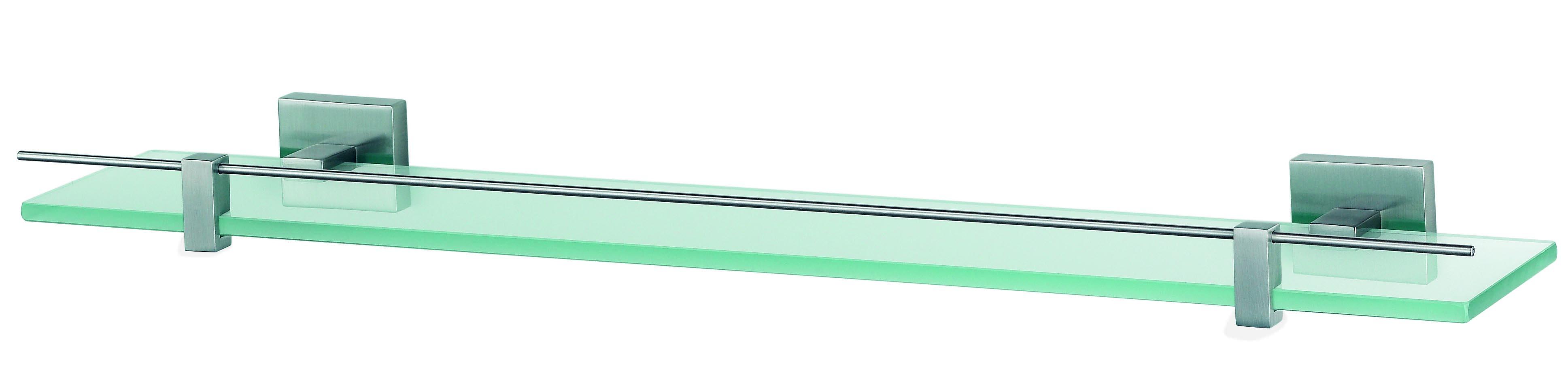 Haceka Mezzo planchet 60x12.7cm mat chroom