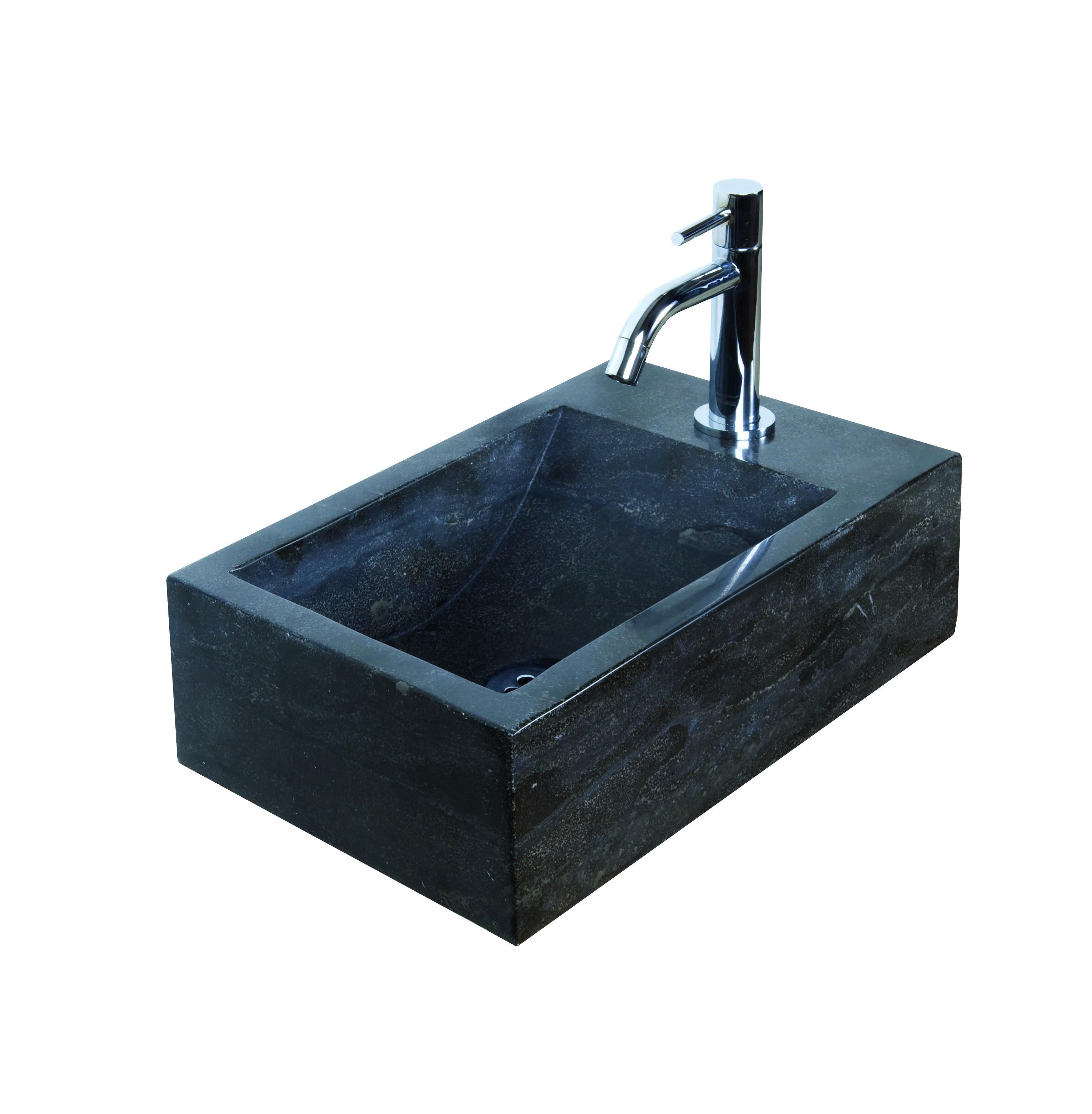 Haceka Nera fonteinset natuursteen Links 40x23x11