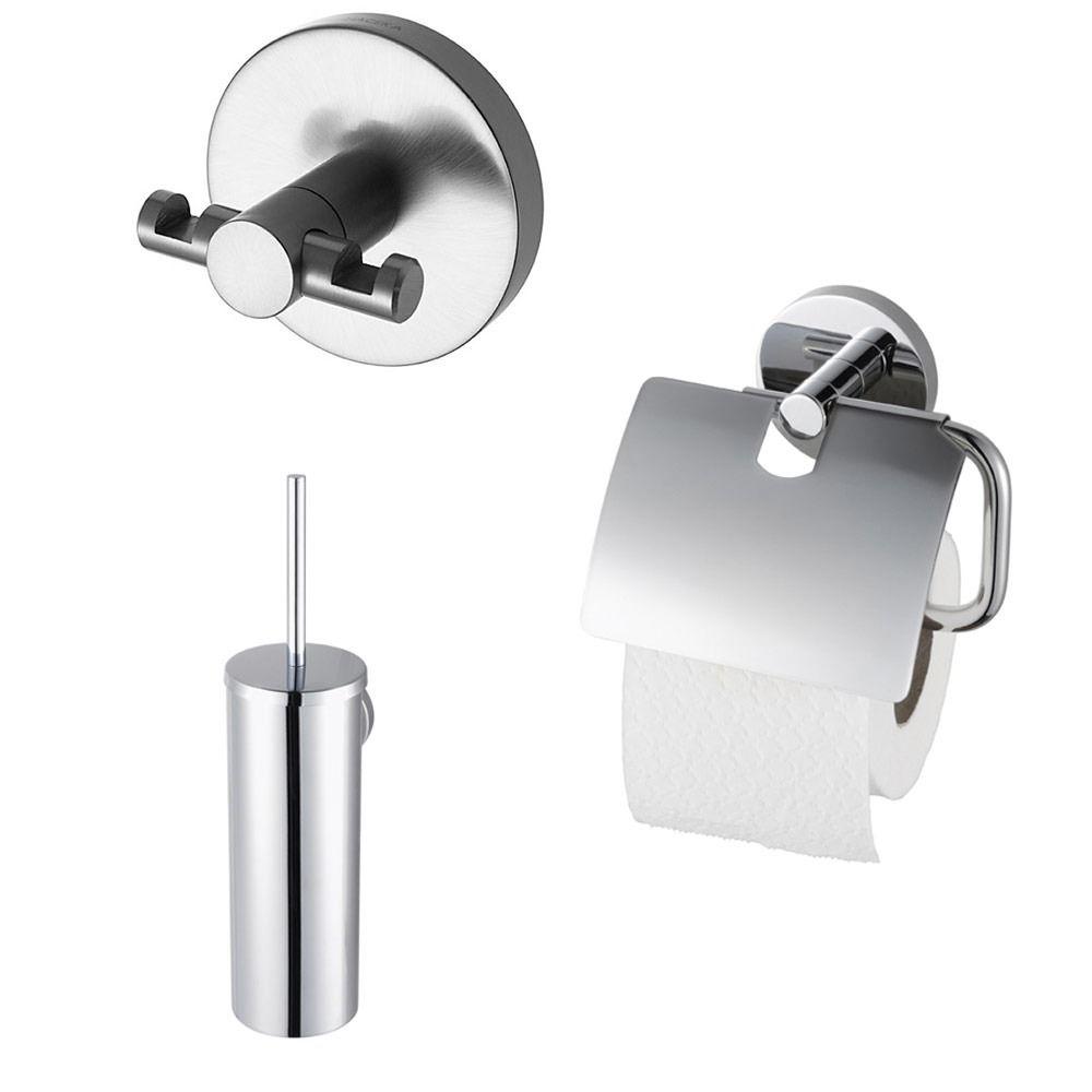 Haceka Pro2000 Toiletset chroom