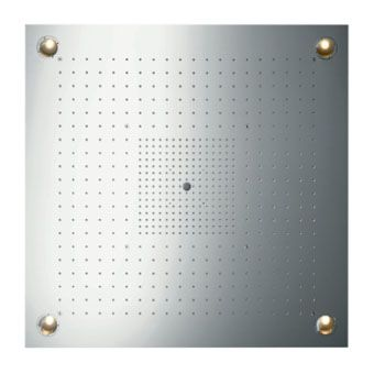 Hansgrohe AXOR Starck Showerheaven m. verlichting 72x72cm
