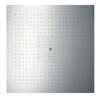Hansgrohe AXOR Starck Showerheaven z. verlichting 97x97cm