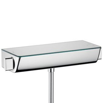 Hansgrohe Ecostat Select douchekraan thermostatisch z. omstel m. koppelingen HOH=15cm m. planchet va