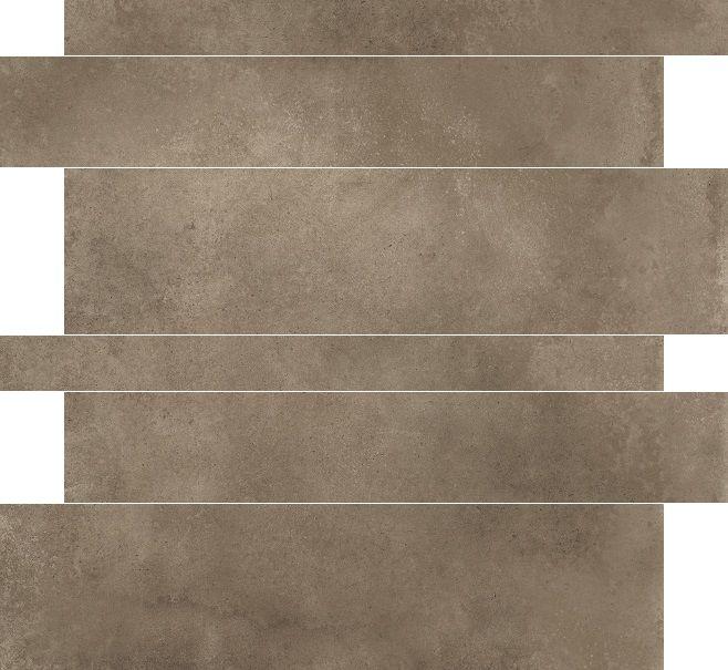 Herberia Timeless Ecru 5x10x15x60 rett tegelstroken