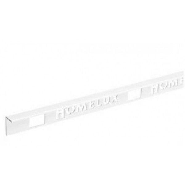 Homelux PVC recht tegelprofiel 270cm wit