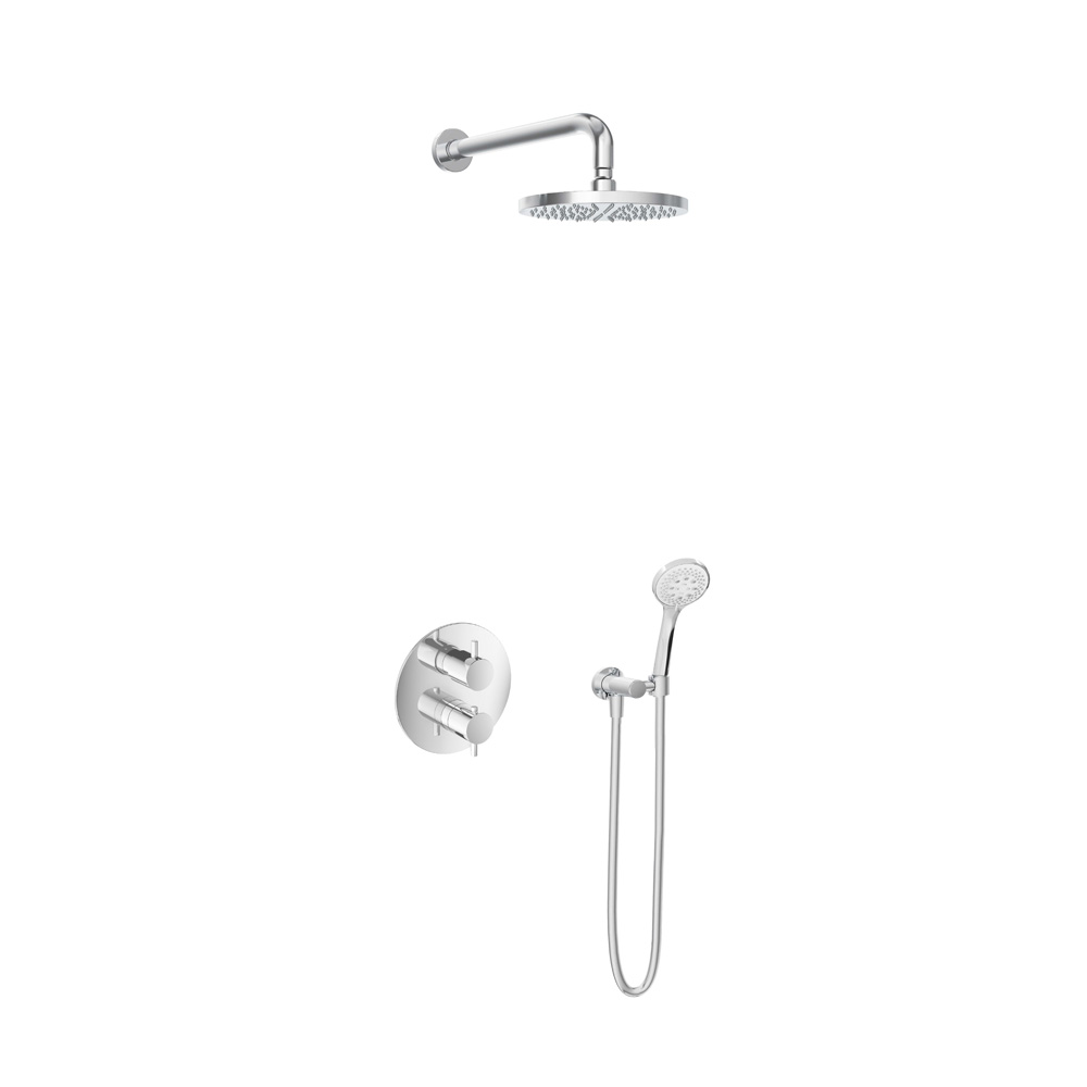 Hotbath Get Together IBS2RACR inbouwdouche met 3s handdouche chroom
