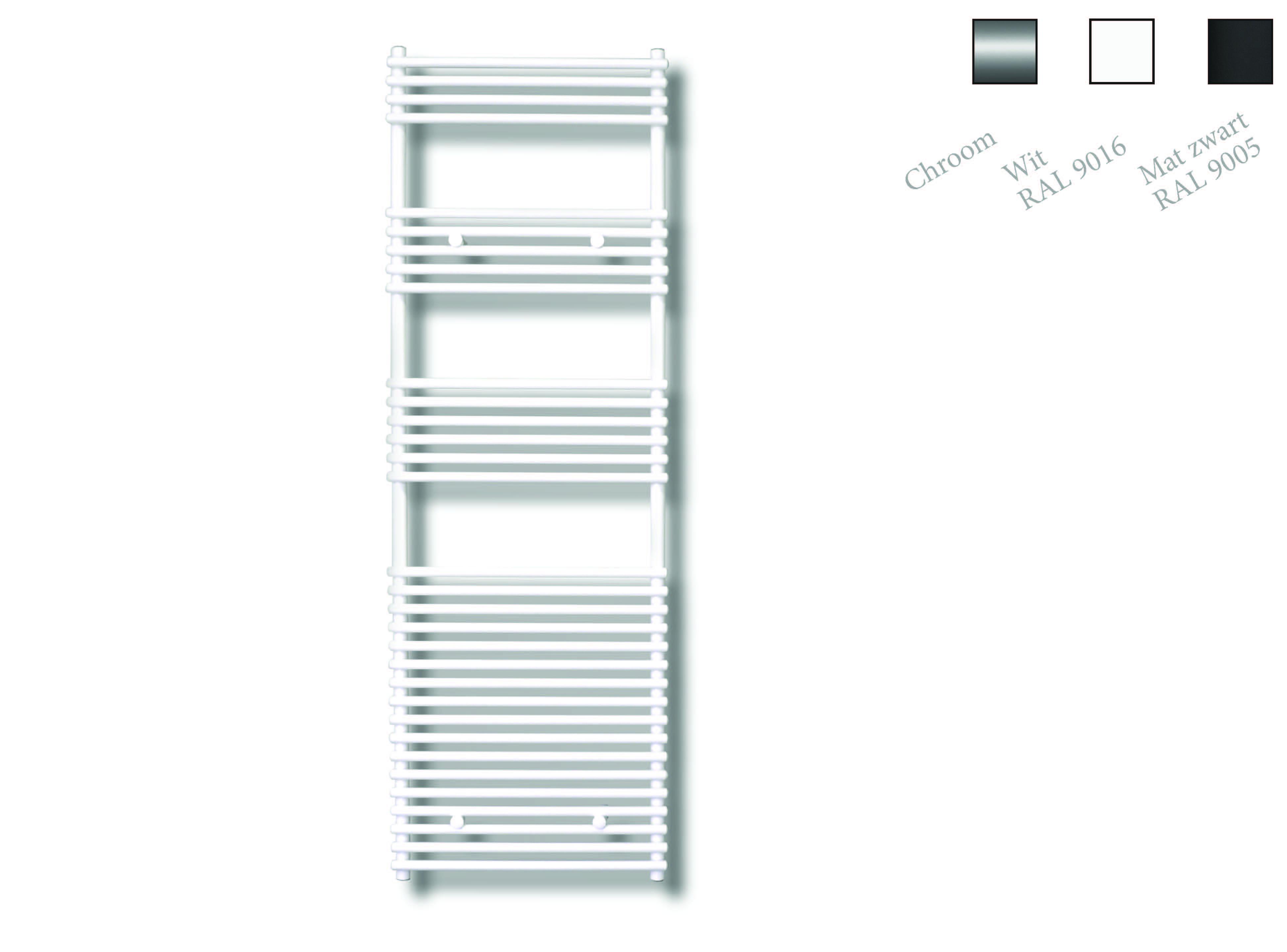 Sanicare design radiator Tube-On-Tube 180 x 60 cm. wit