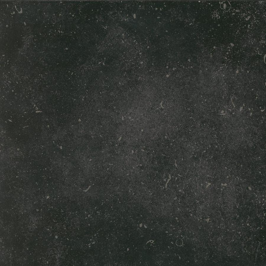 Vloertegel Belgium stone black 60x60