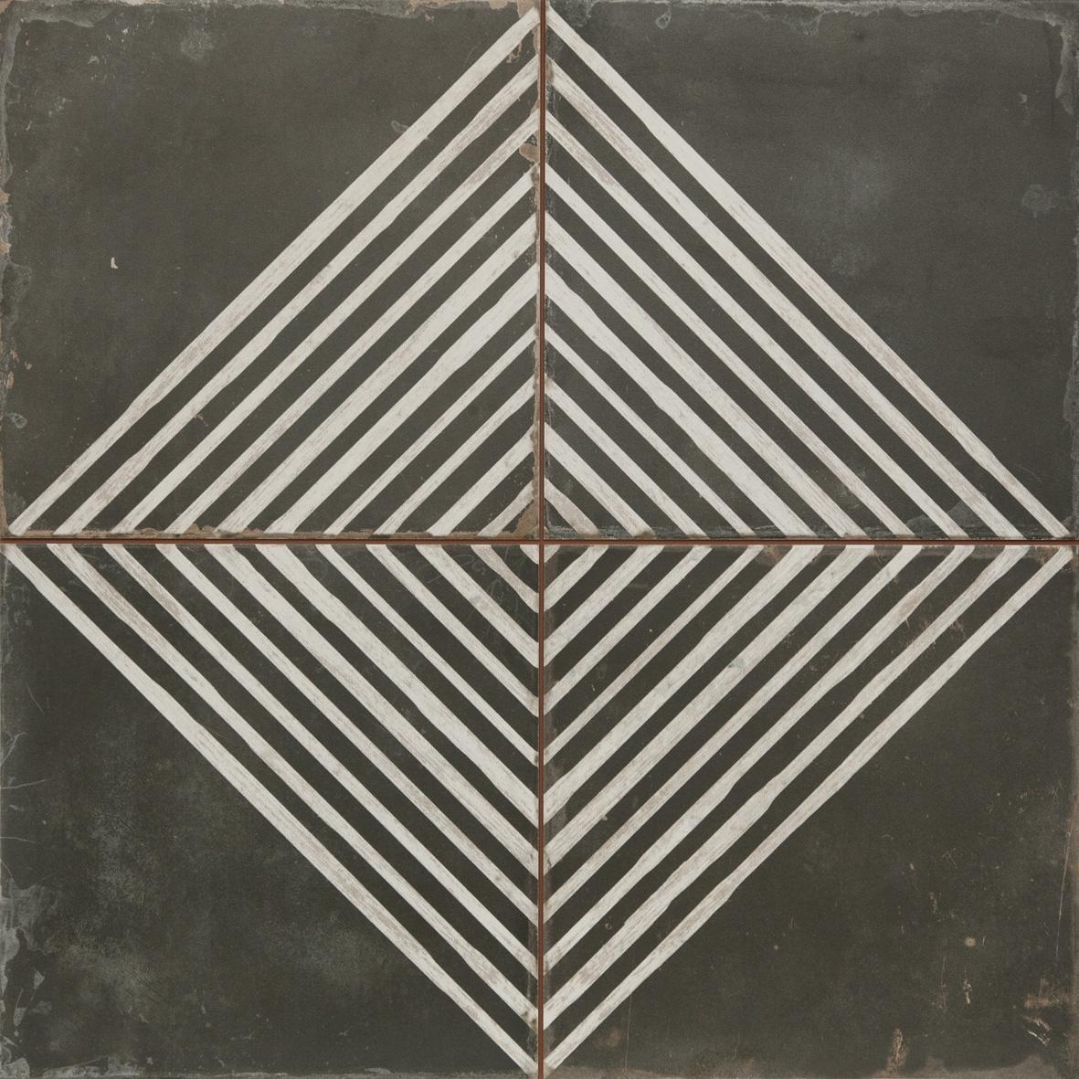 Vloertegel vintage Rombos-N 45×45