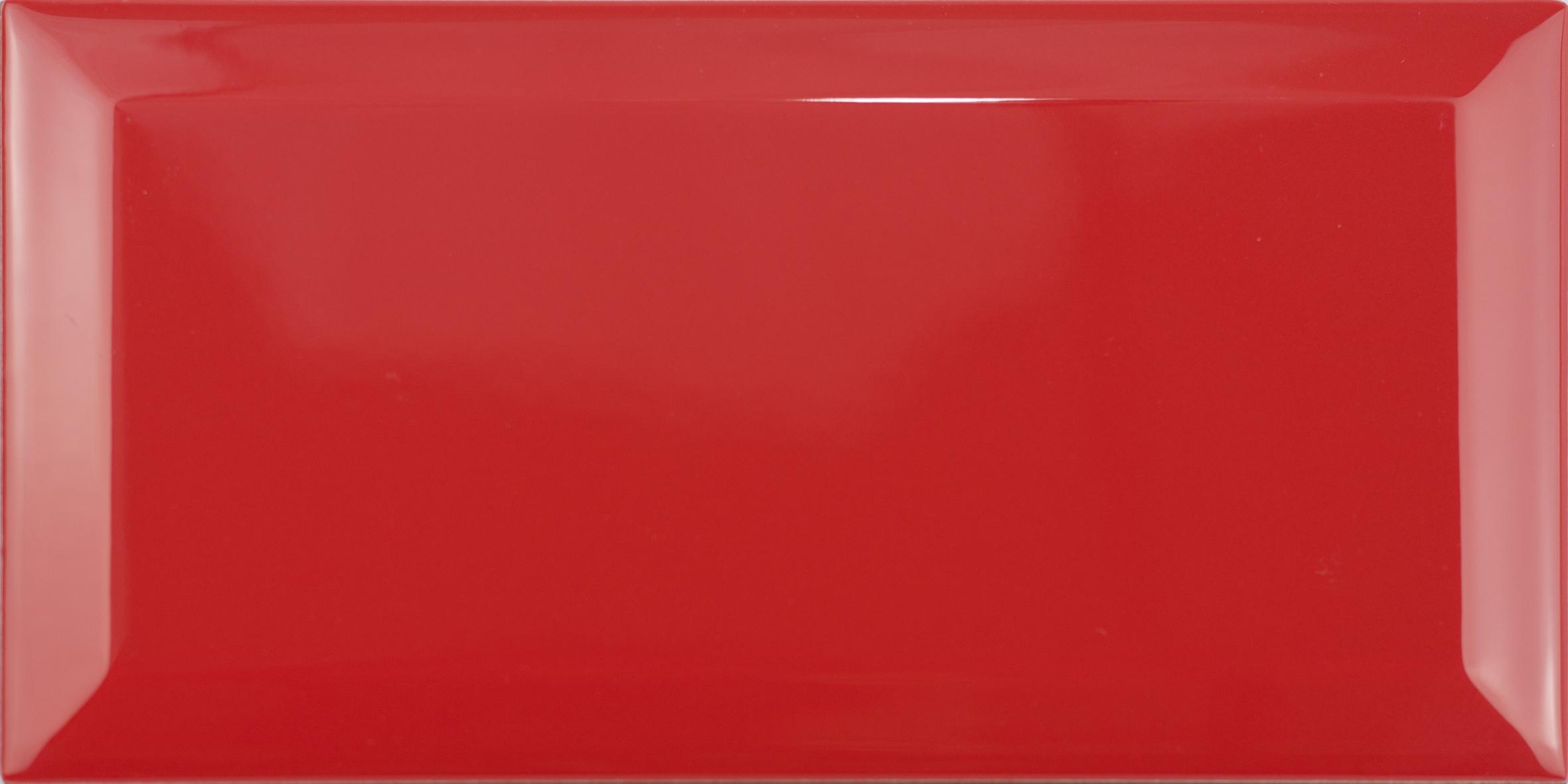 Wandtegel Biselado Rojo 10x20