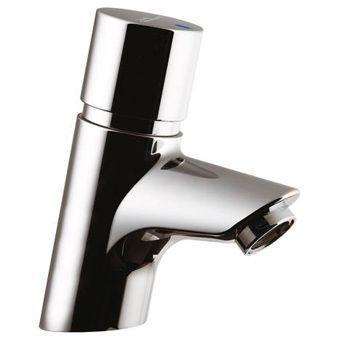 Ideal Standard Ceraplus toiletkraan zelfsluitend z. menging looptijdinstelling 15-35sec. chroom