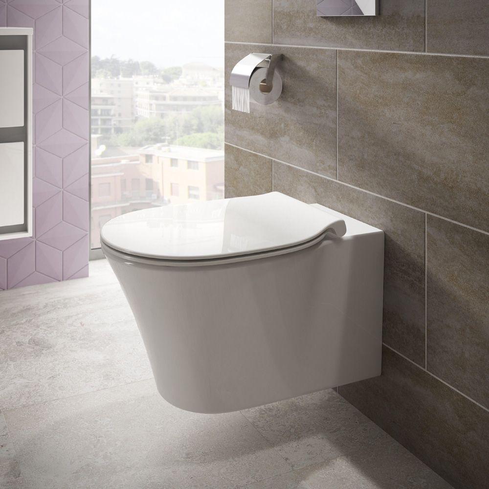Toiletten | Hangend toilet | Randloos toilet