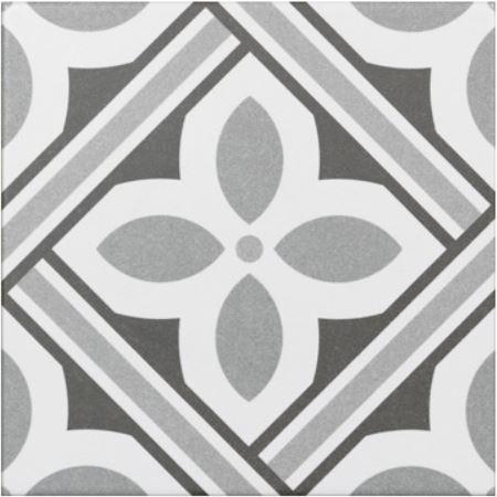 Jabo Atenea vloertegel grijs 20x20