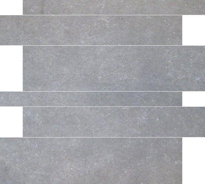Jabo Belgium Stone tegelstroken grey 5-10-15x60 gerectificeerd