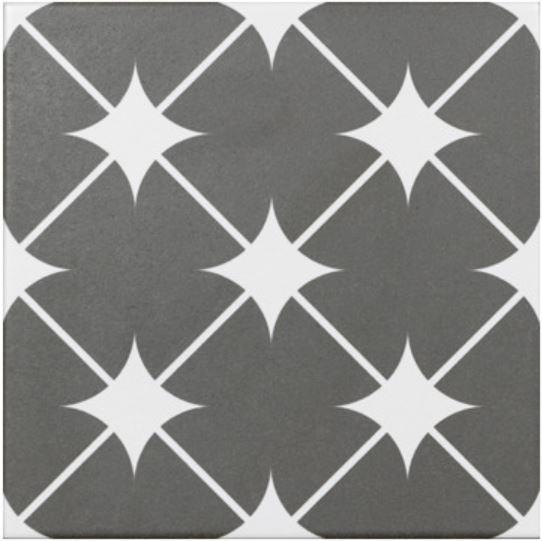 Jabo Cronos vloertegel grijs 20x20