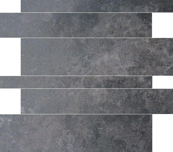 Jabo Gravel muurstroken Antraciet 5-10-15x60 gerectificeerd
