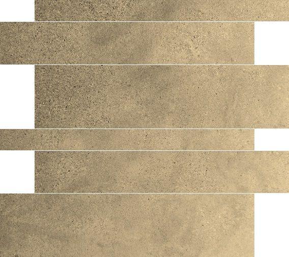 Jabo Gravel muurstroken Cream 5-10-15x60 gerectificeerd
