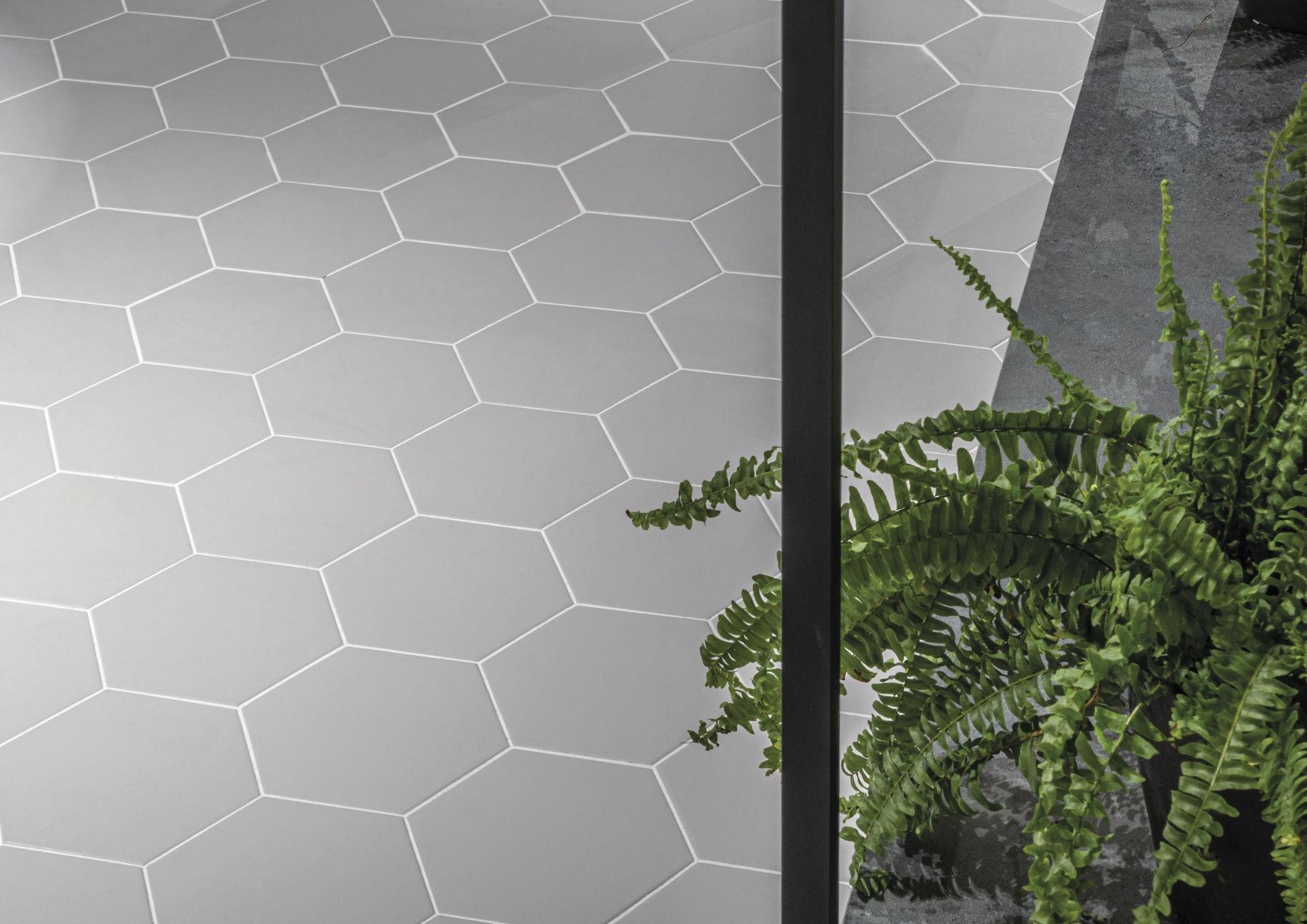Jabo Hexagon Timeless vloertegel grey 15x17
