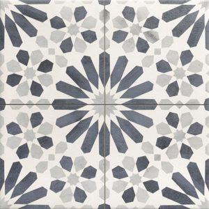 Jabo Marrakech vloertegel blauw 44x44
