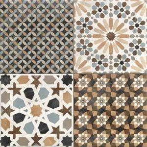 Jabo Marrakech vloertegel mix 44x44