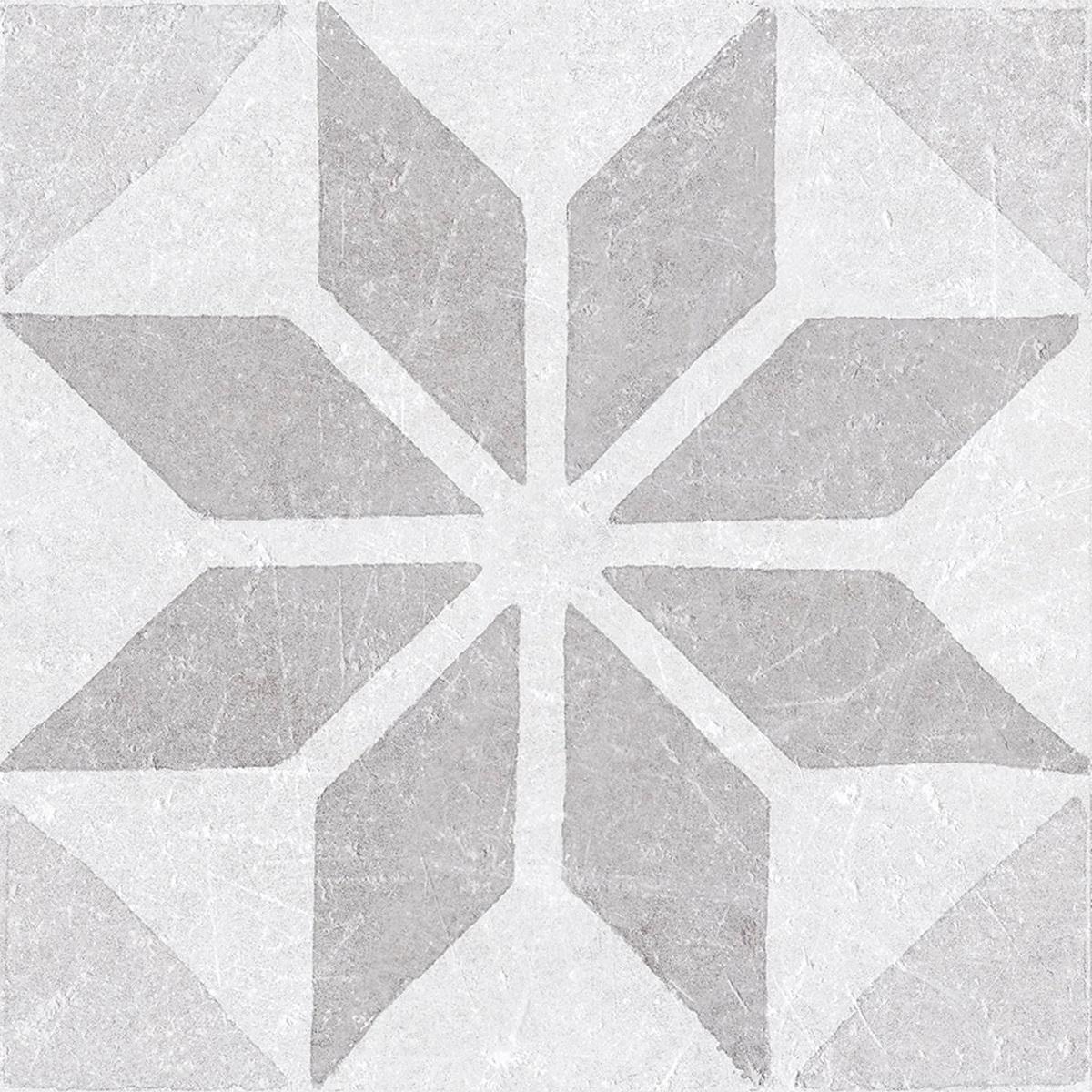 Jabo Materia Decor vloertegel star pearl 20x20