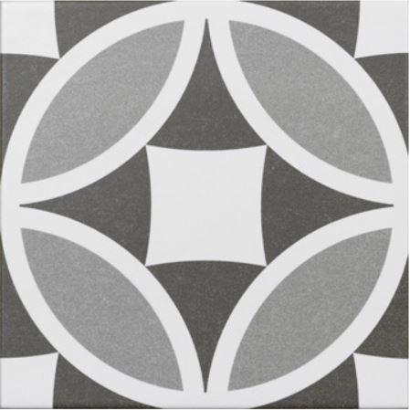 Jabo Olympia vloertegel grijs 20x20