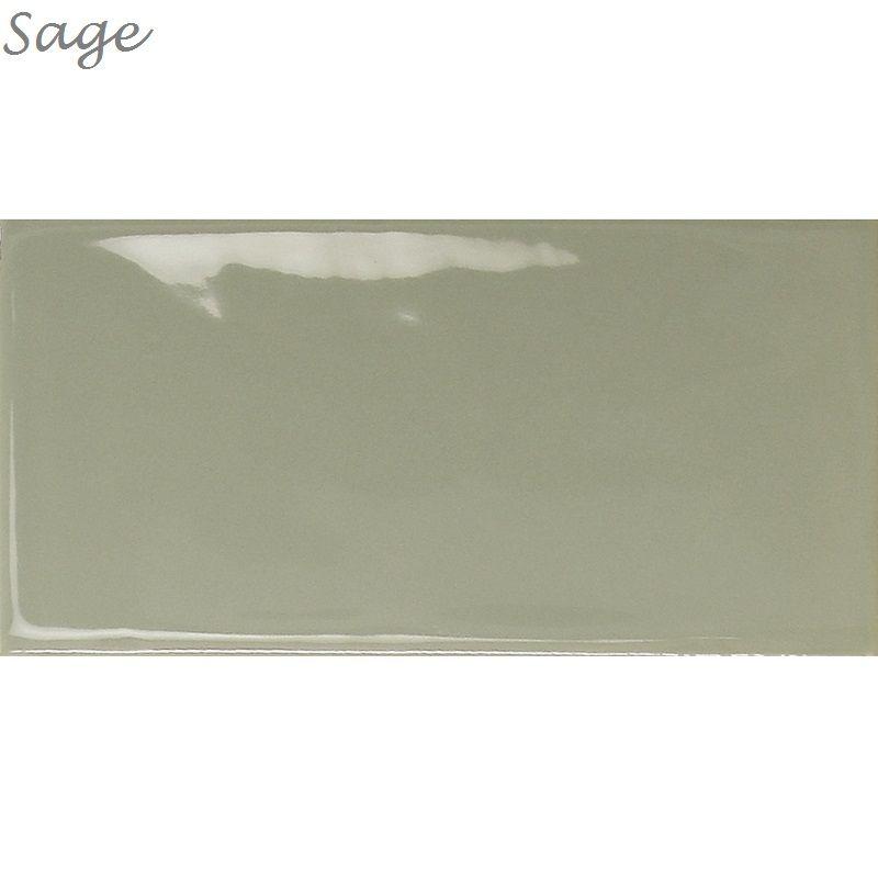Jabo Wandtegel Century Sage 7,5x15 cm