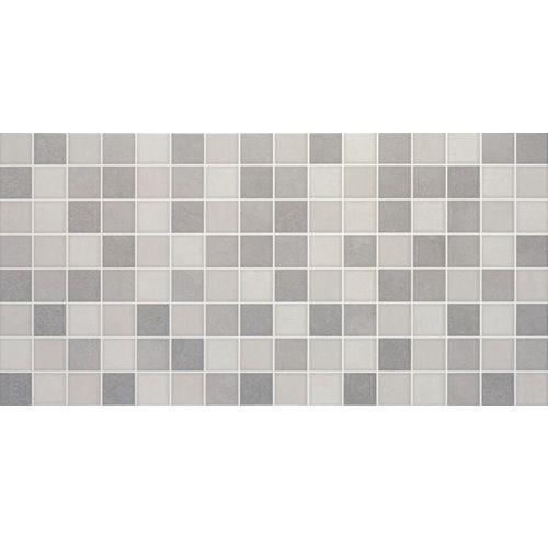 Jabo Wandtegel Reprise Perla gris decor 31,6x63,2