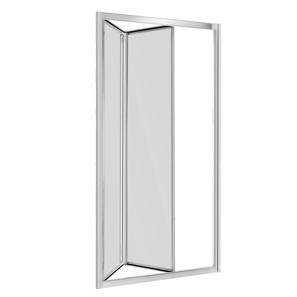 Kerra Harmony douchedeur 90x195cm grijsglas