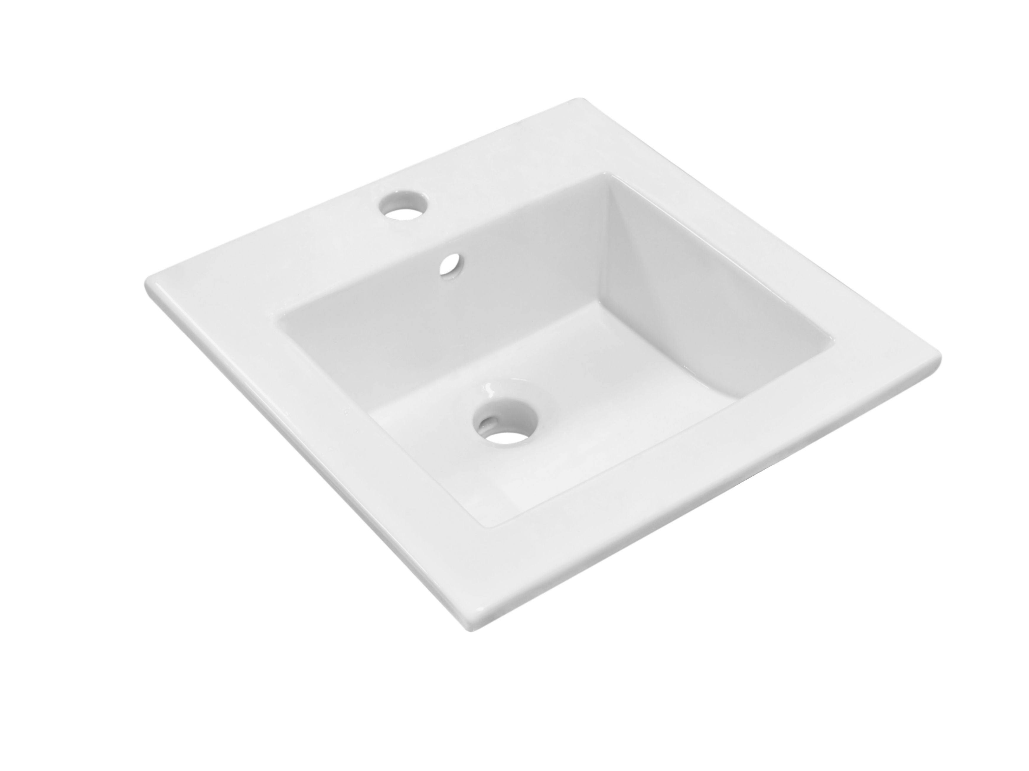Badkamer accessoires kerra kr inbouw wastafel cm wit