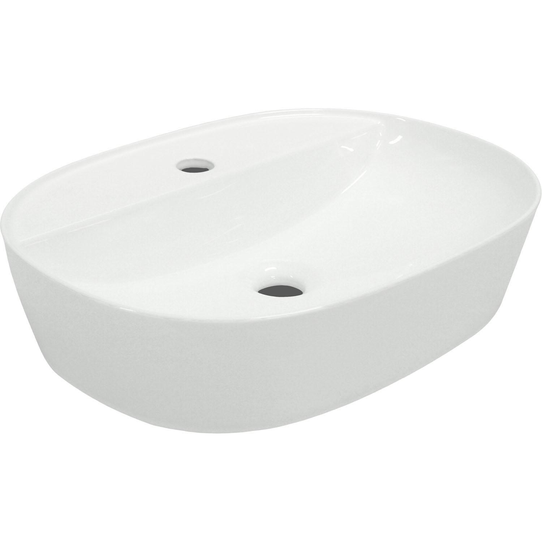 Kerra KR 860 opbouw waskom 50x38x12 wit