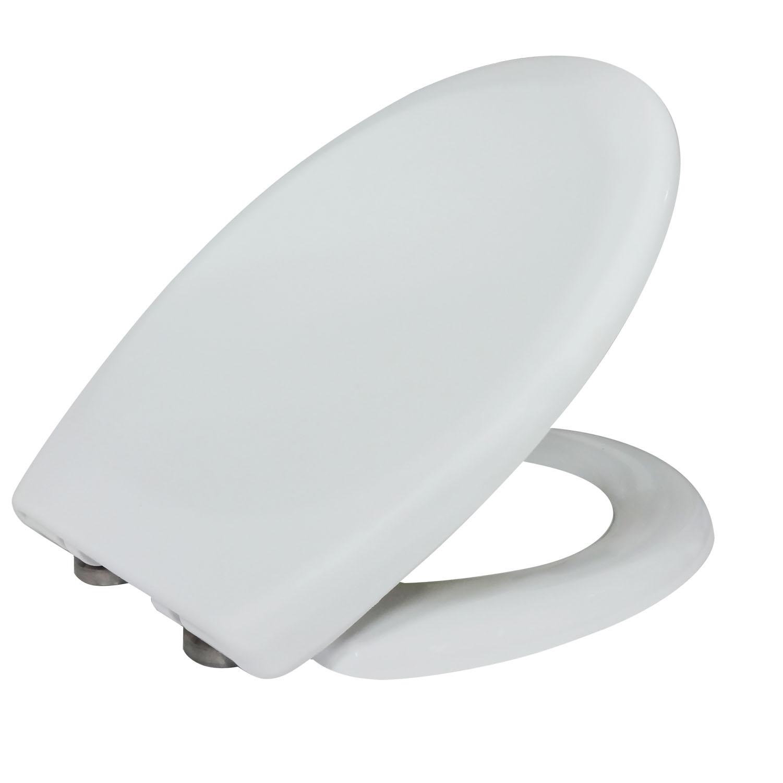 74d27b59b76633 Op zoek naar mooie ronde toiletzitting  deze softclose toiletzitting van  kerra is gemaakt van duroplast