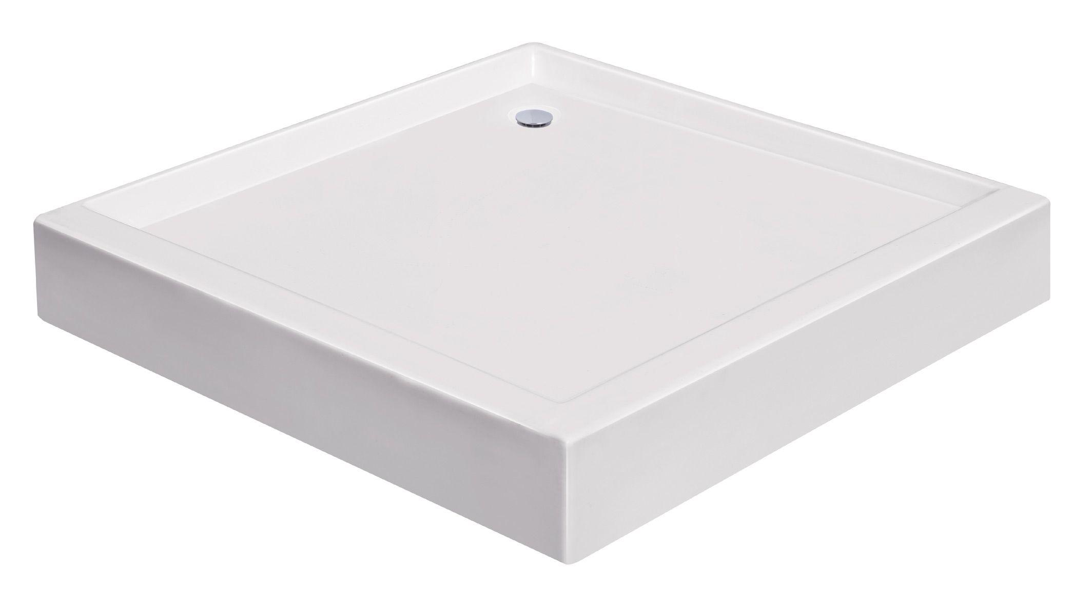 Lambini Designs Aken douchebak vierkant 90x90cm acryl
