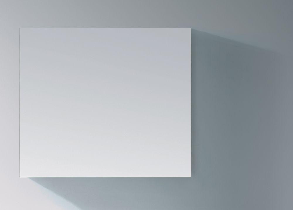 Lambini Designs Alu spiegel op aluminium frame 80x70cm