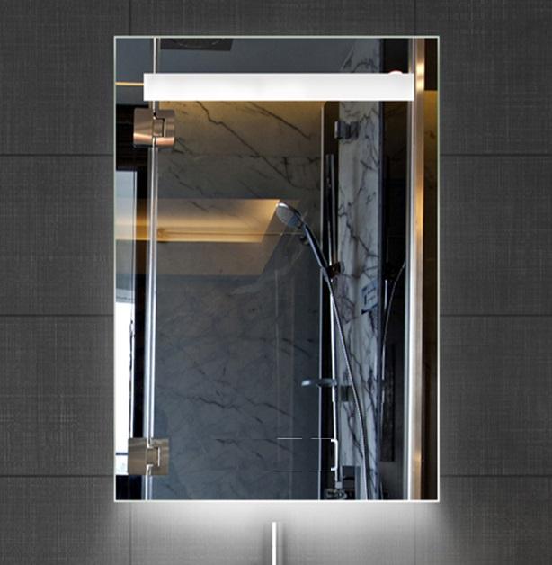 Lambini Designs Ambi spiegel met LED verlichting en onderverlichting 58x80cm
