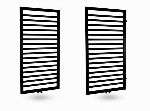 Lambini Designs Bornova design radiator antraciet 60x120cm 695 Watt