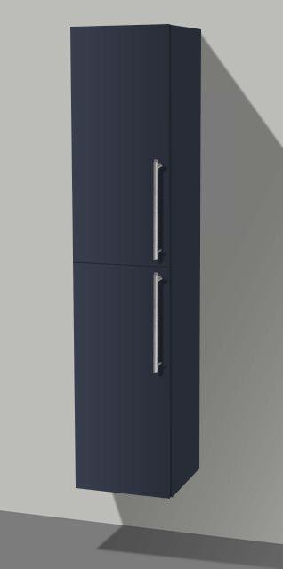 Lambini Designs Compact kolomkast Hoogglans antraciet 160cm