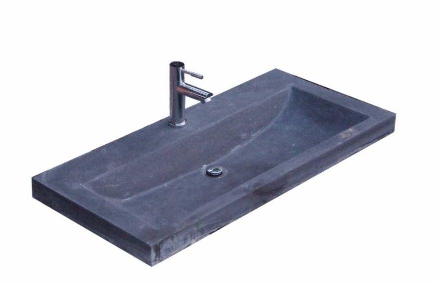 Lambini Designs compact stone meubelwastafel 80cm