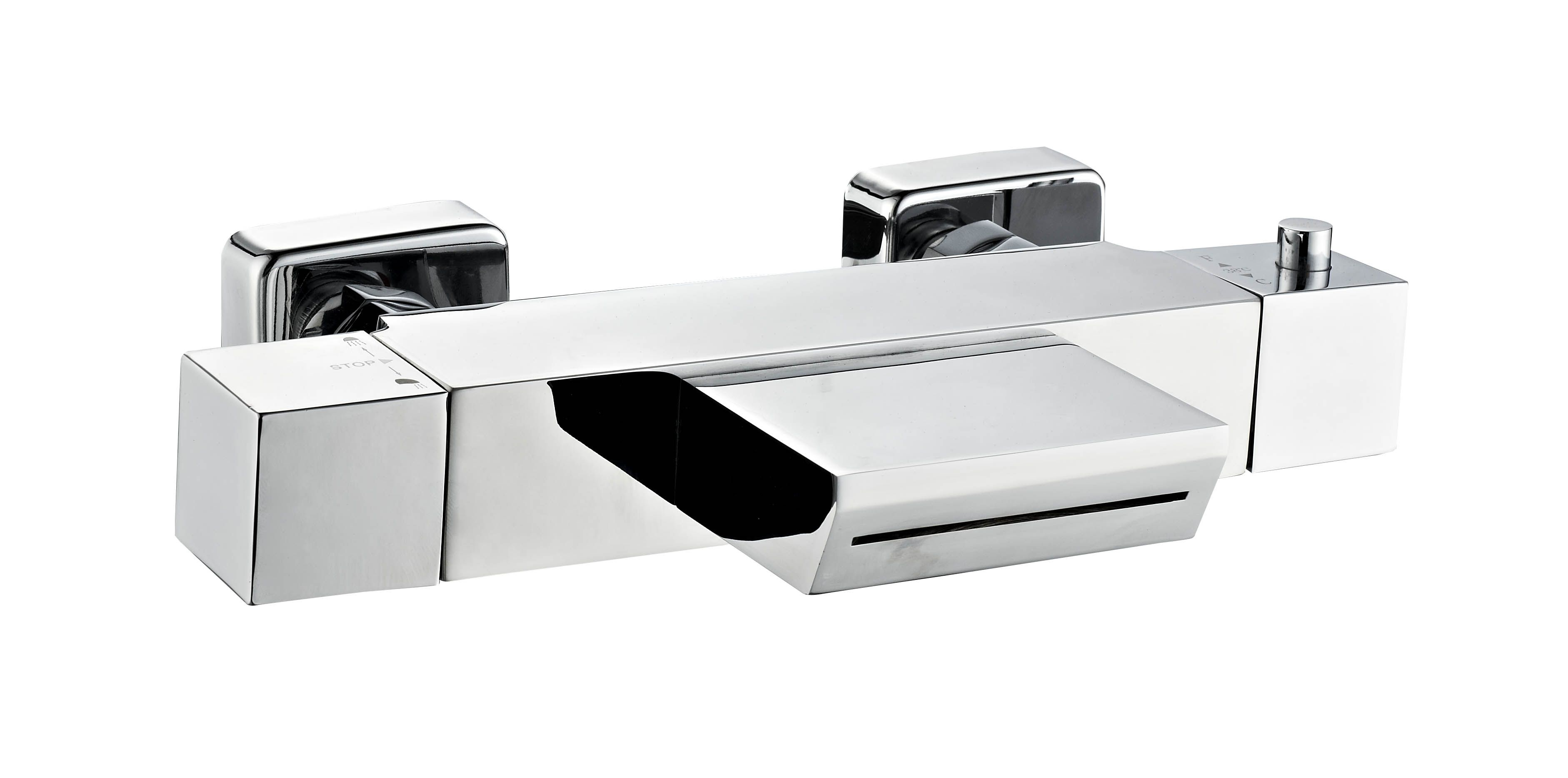 Lambini Designs Cube badkraan waterval thermostaat