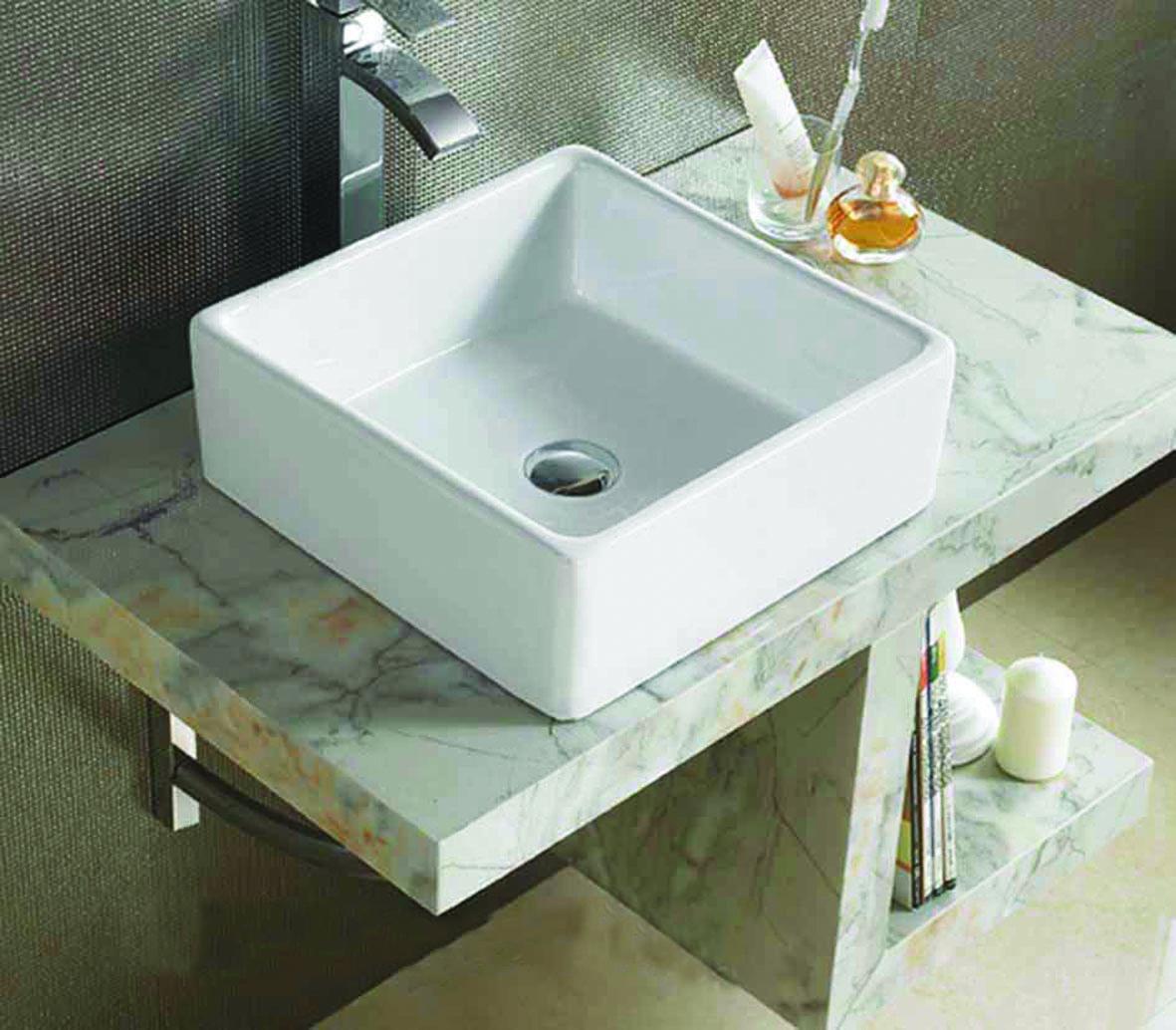 Lambini Designs Kwadro waskom 38x38x13cm