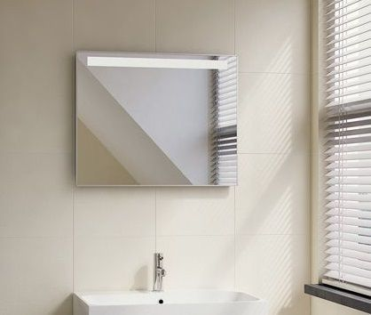 lambini designs led spiegel 80x70cm. Black Bedroom Furniture Sets. Home Design Ideas