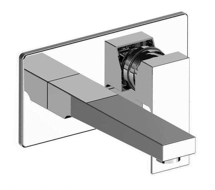 Lambini Designs Modena inbouw wastafelkraan chroom