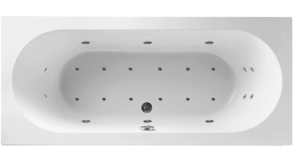 Productafbeelding van Lambini Designs Round Bubbelbad 190x90cm 6+4+2 hydro en 12 aero jets