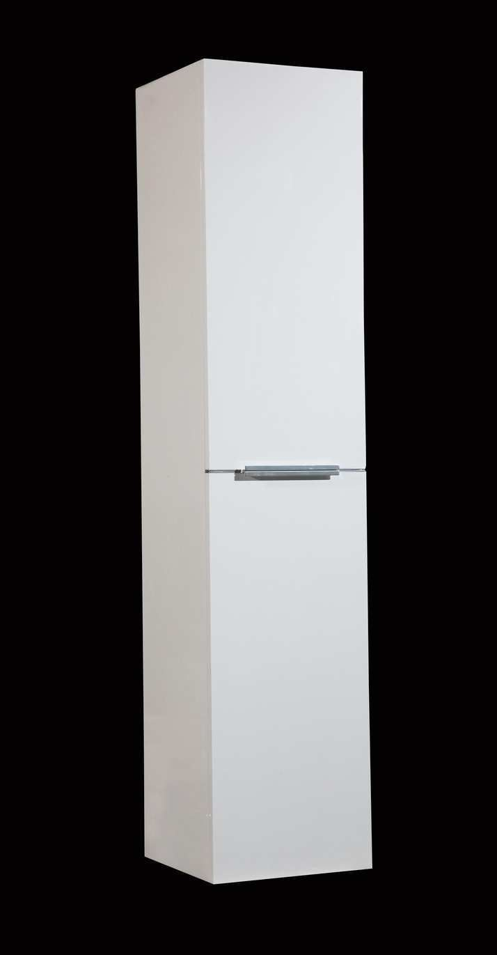 Lambini Designs Senza kolomkast Hoogglans wit 160cm