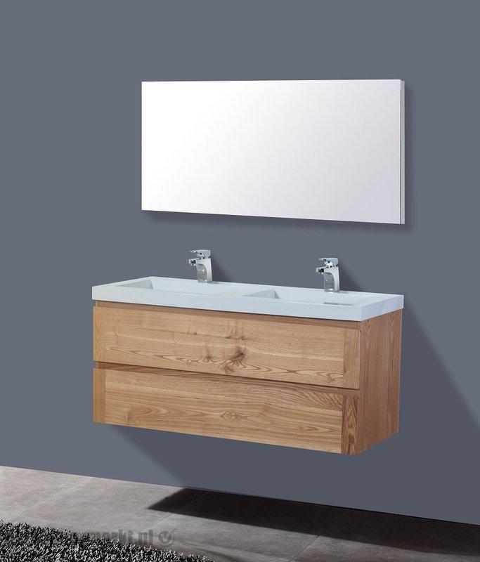 Lambini Designs Senza Wood badkamermeubel eiken 120cm