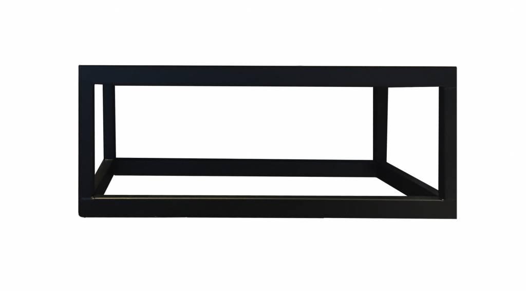 Lambini Designs Steel mat zwart frame voor fontein