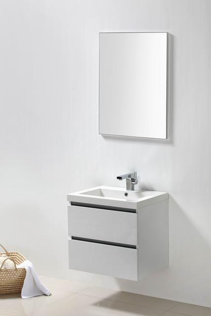 Lambini Designs Trend Line badkamermeubel hoogglans wit 60cm