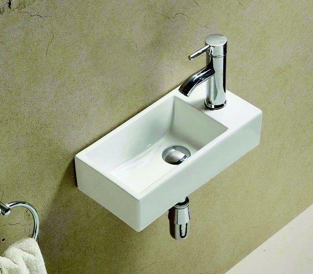 Lambini Designs Veer fontein wit 40x20cm rechts